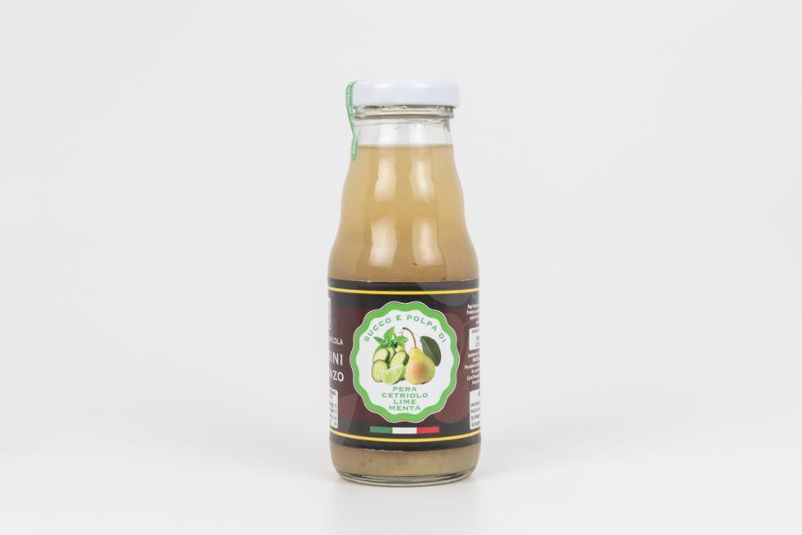 succo-e-polpa-di-pera-cetriolo-lime-e-menta